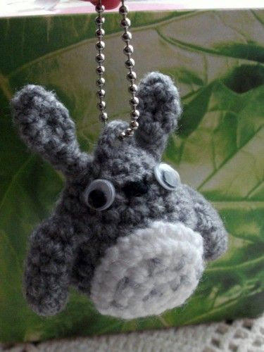 Totoro keyring. For my friends,Japanese anime lovers. pdf pattern ...