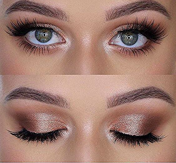 Photo of 41 top rose gold makeup ideas that look like a goddess #look #the #a …