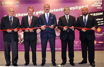 İstanbul AutoShow 2012 Açılışı
