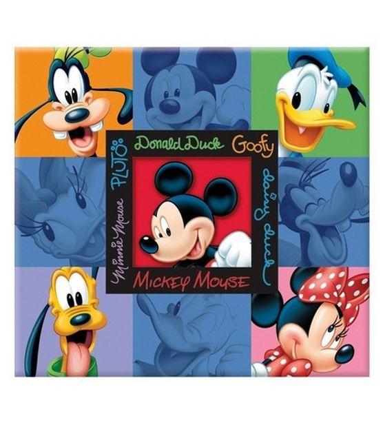 Disney Scrapbook Album 12''x12''-Mickey Blue at Joann.com