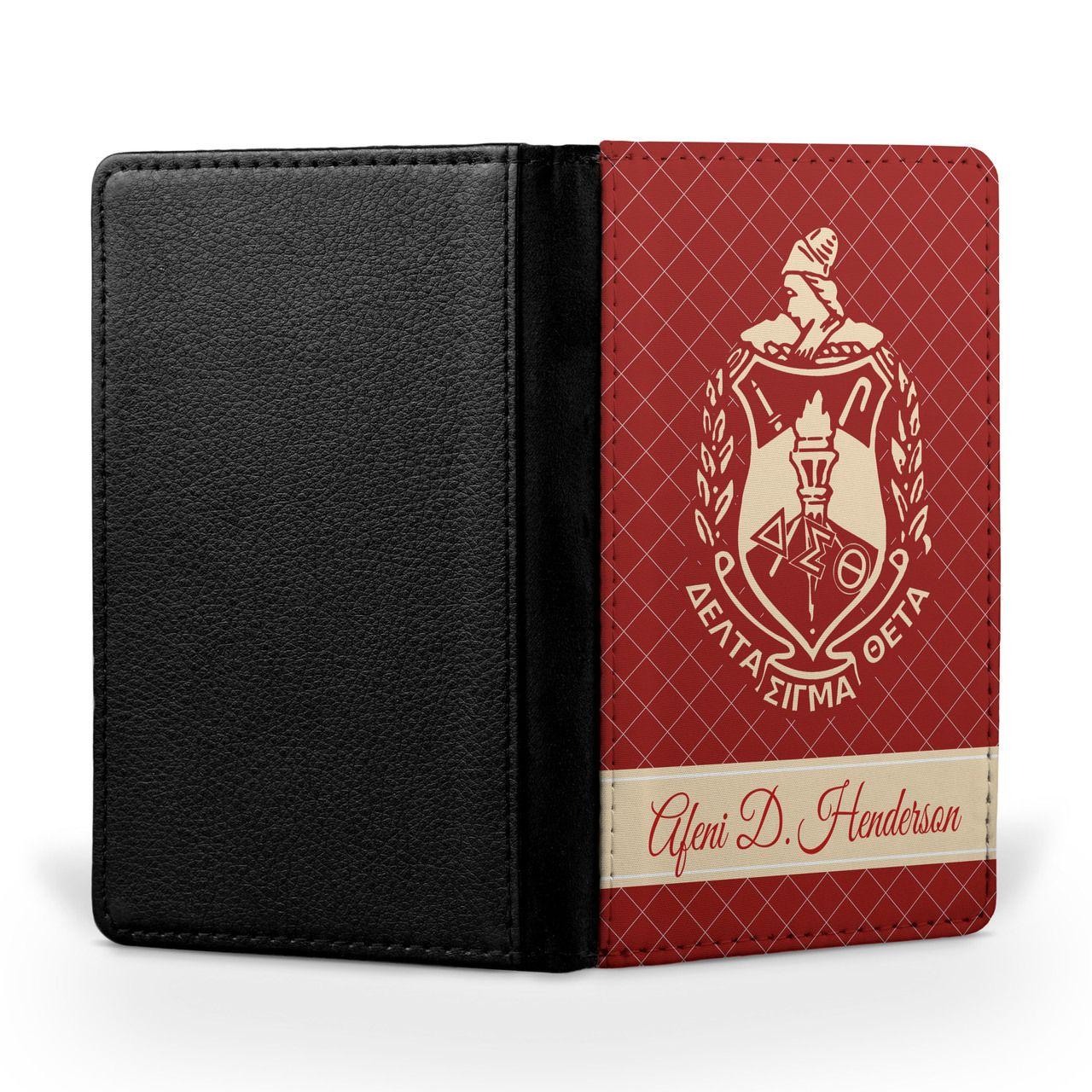 Oo Oop Travel Passport Cover In 2019 Delta Sigma Theta 1913