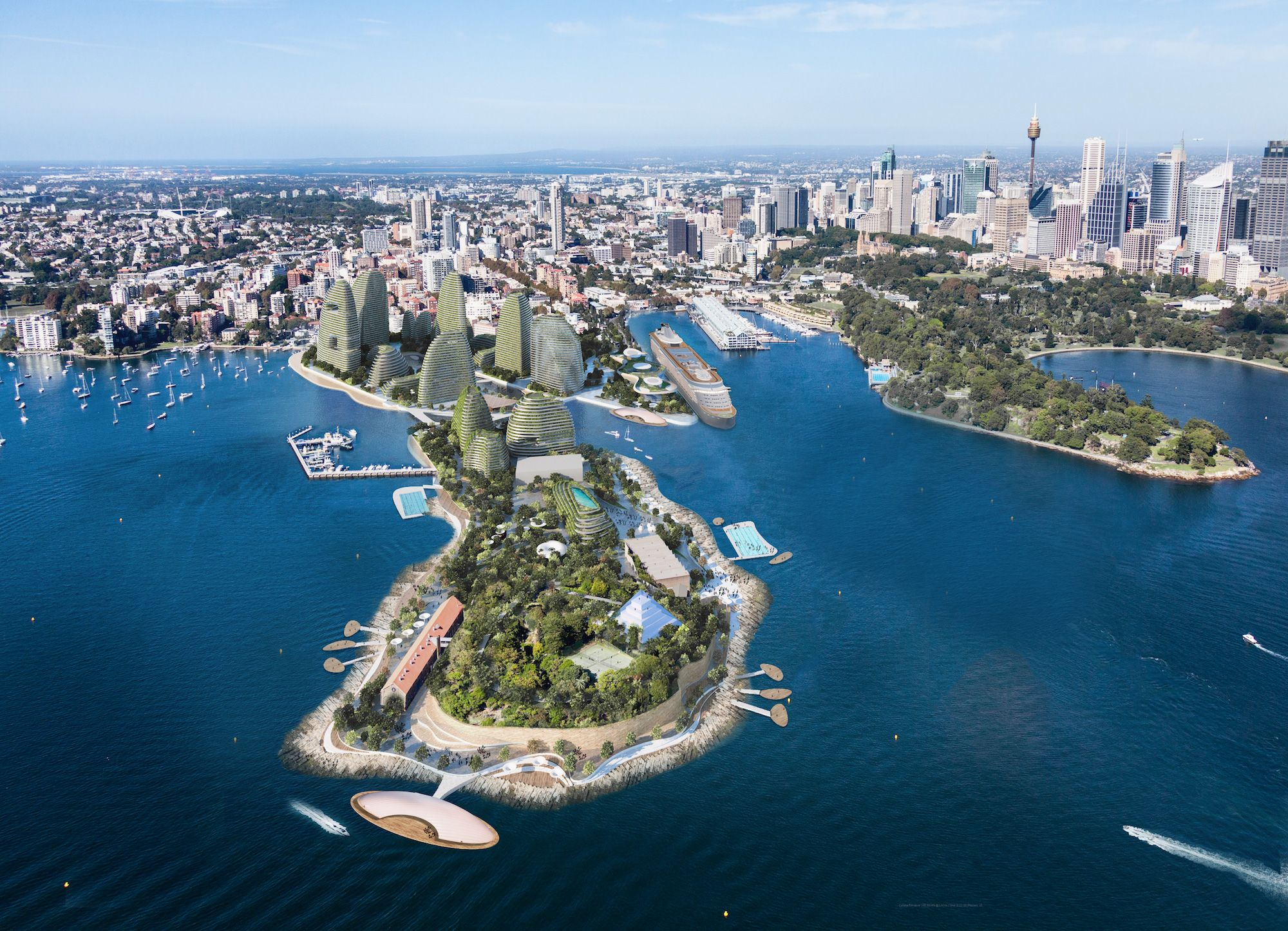 LAVA unveils proposal to transform for sydney\'s garden island | Lava ...