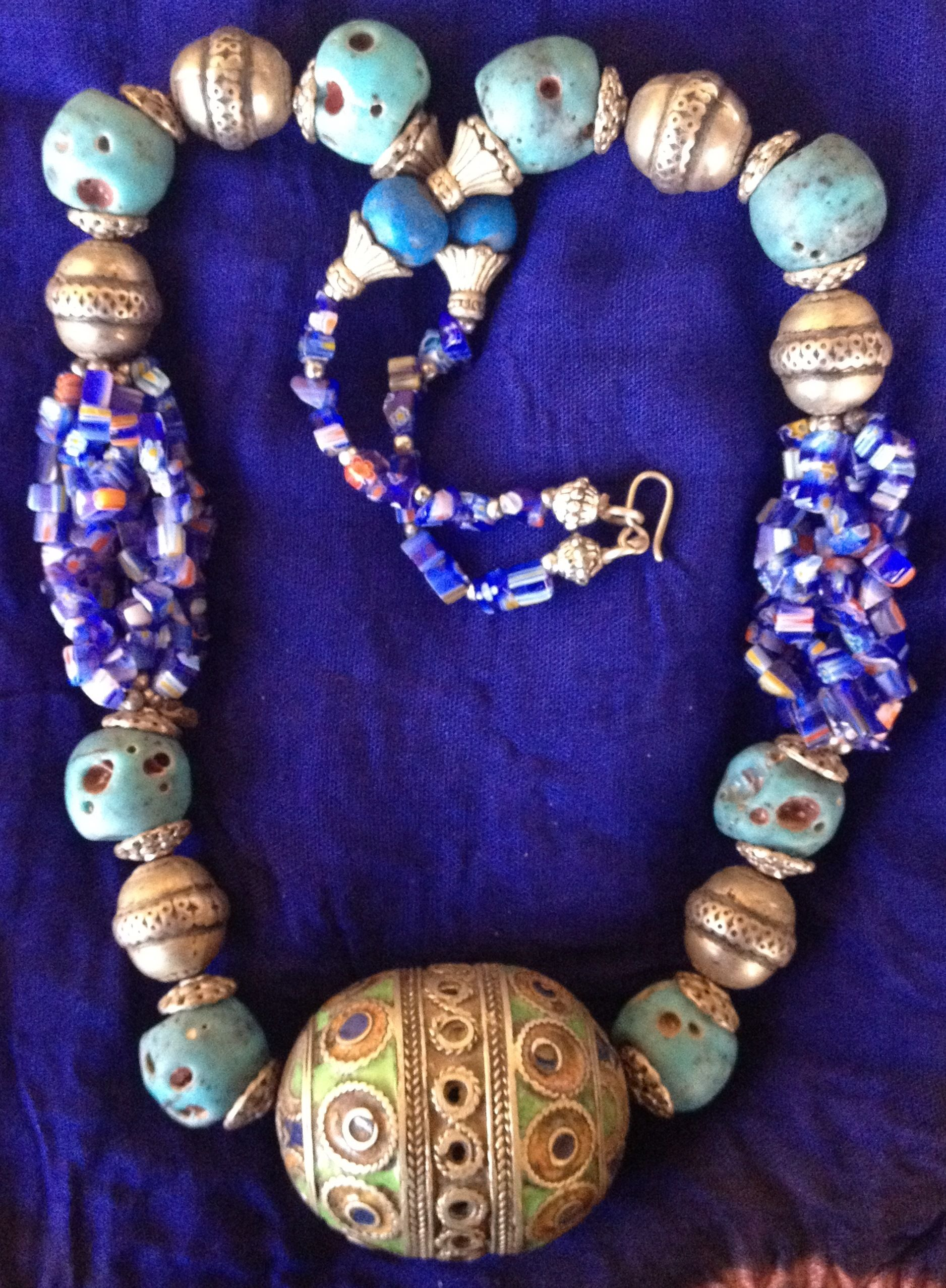 a morocco berber small shop found in pin necklace ouarzazate