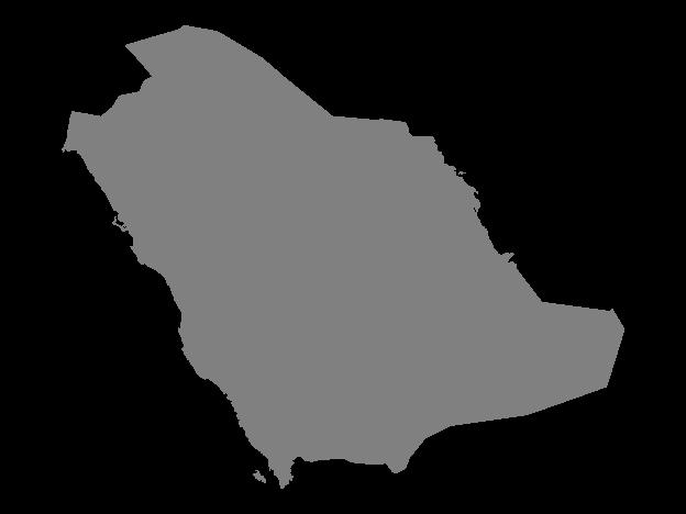 Grey Map Of Saudi Arabia Free Vector Maps Saudi Arabia Flag Ksa Saudi Arabia Map Vector
