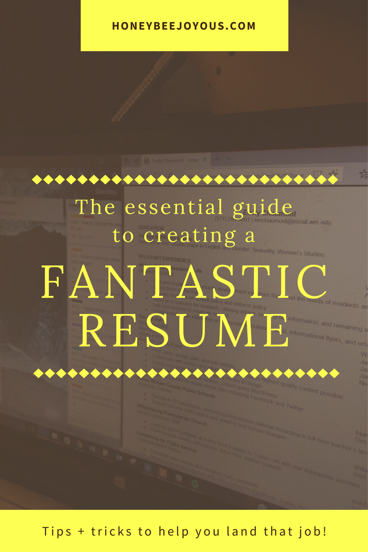Create The Perfect Resume Enchanting The Essential Guide To Creating A Fantastic Resume  Perfect Resume .