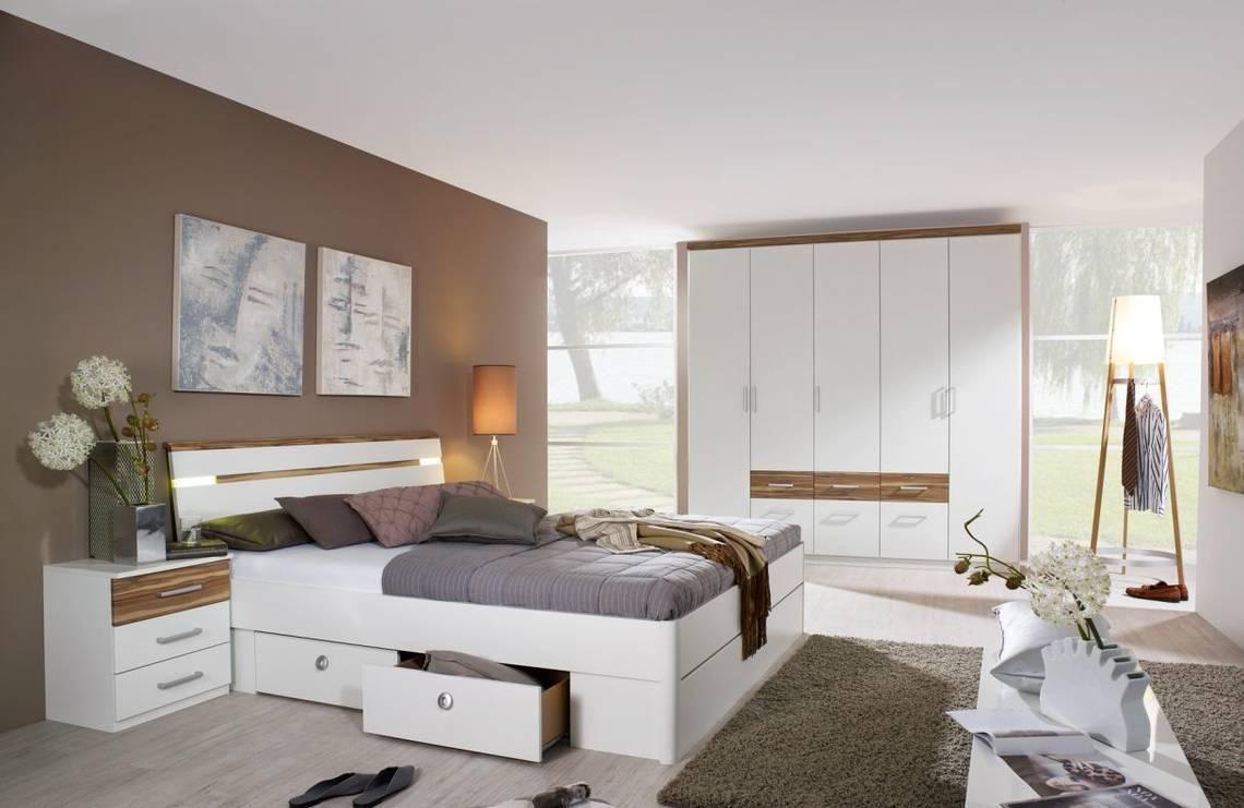 Schlafzimmer komplett, Musterring Kara Abverkauf Frisch Musterring