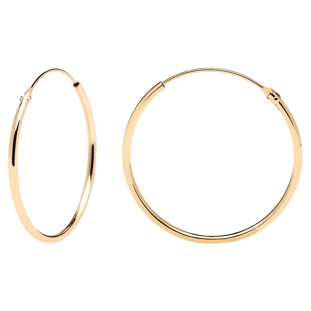 Earrings Pdpaola Gold Earrings Gold Minimal Jewelry