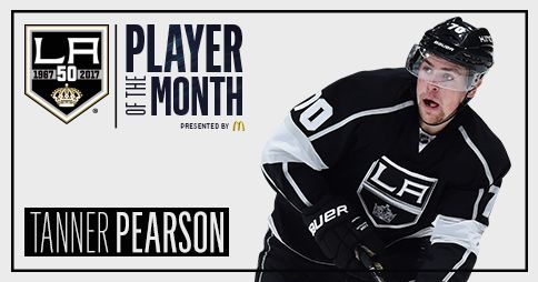 I Just Voted Tanner Pearson Mcdonald S La Kings Player Of The Month For October Go Here And Cast Your Vote Http Lakings Com With Images La Kings Players Alec Martinez