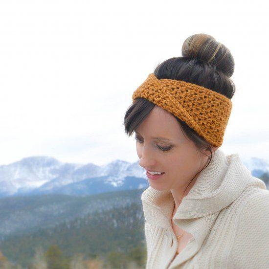 This Super Easy Crochet Headbandear Warmer Has A Reversible Stitch