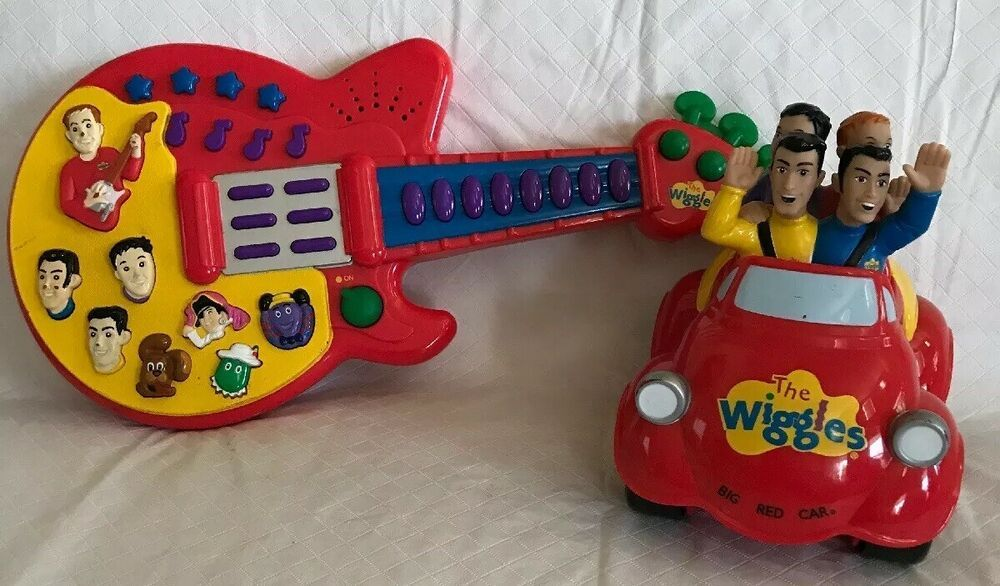 Details About The Wiggles Big Red Car 2003 Spin Master Battery