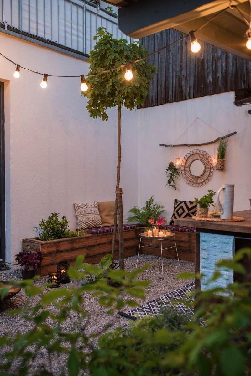 Decoration Upcycling Makeover Kitchen Outdoor Terrace Leelah Garden Before After Projeto De Cozinha Ao Ar Livre Jardins Rusticos Jardim Com Terraco