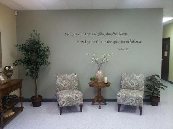Modern Office Foyer Ideas Pintrest : Modern spring easter church lobby decorations google
