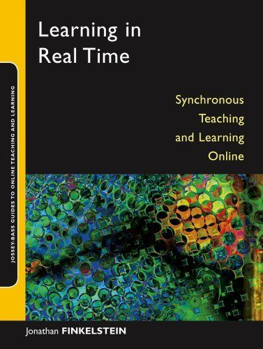 Learning in Real Time: Synchronous Teaching and Learning Online (Jossey-Bass Guides to Online Teaching and Learning) by Jonathan E. Finkelstein, http://www.amazon.com/dp/B002RYXA36/ref=cm_sw_r_pi_dp_RGKbtb1EXA76S