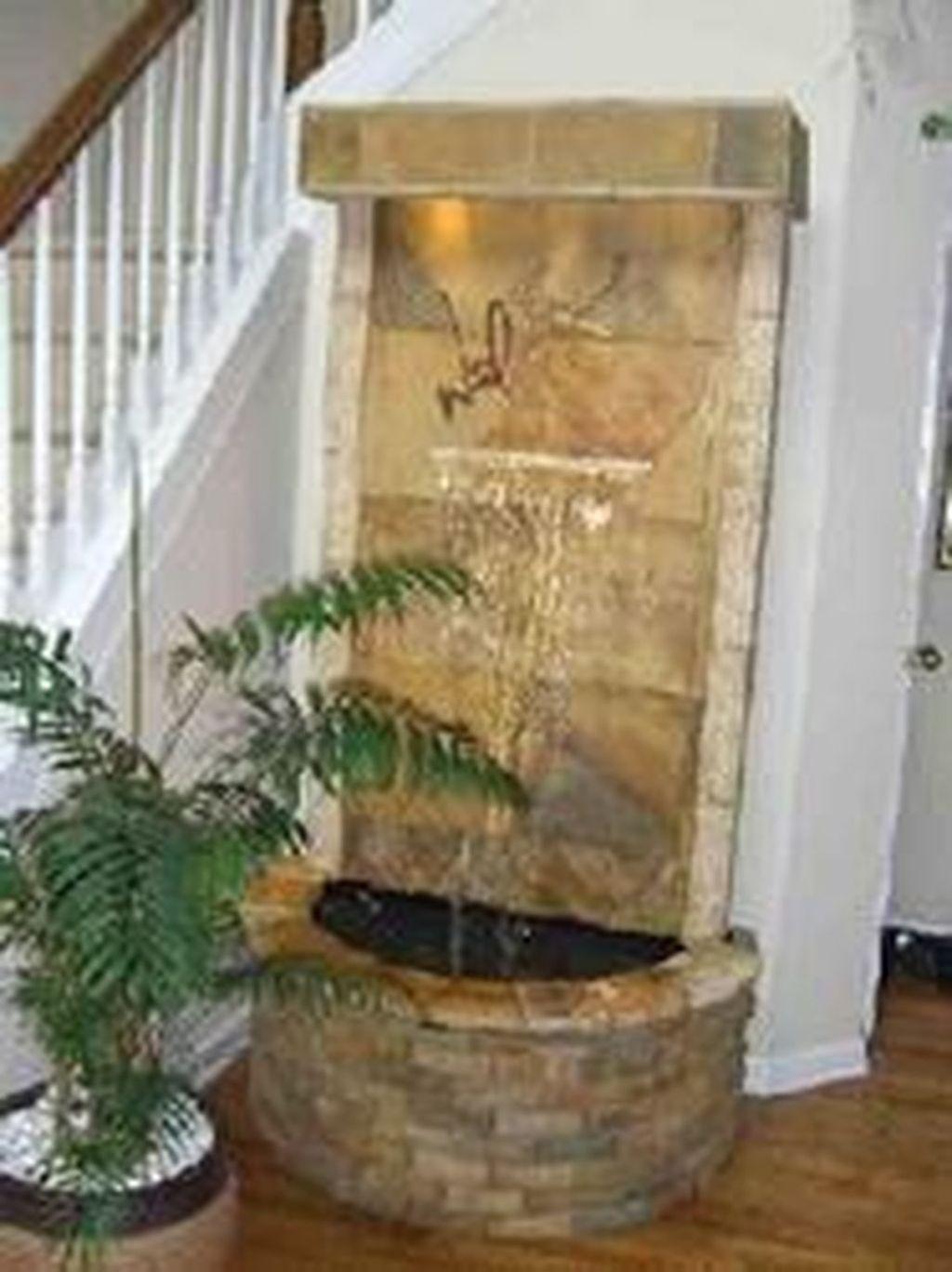 30 Stunning Indoor Wall Waterfall Designs Ideas Indoor Water