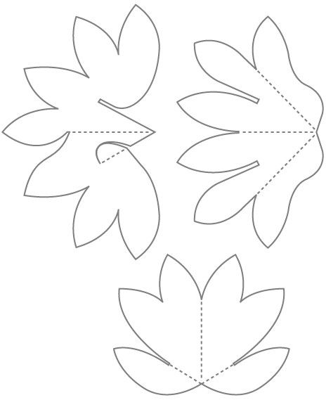 Home Pop Up Card Templates Pop Up Flower Cards Flower Template