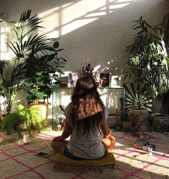 HOW TO CREATE SACRED SPACE - with Leila Sadeghee. * THE THREAD JOURNAL.