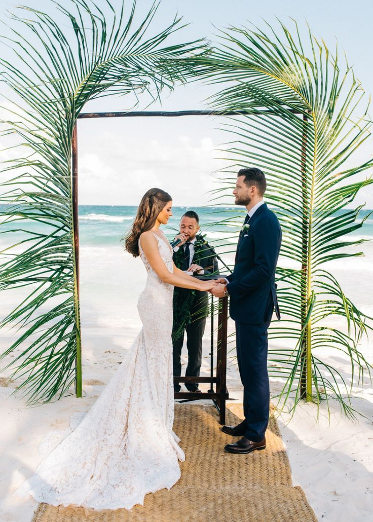 Style Meets Sand For This Destination Wedding In Tulum