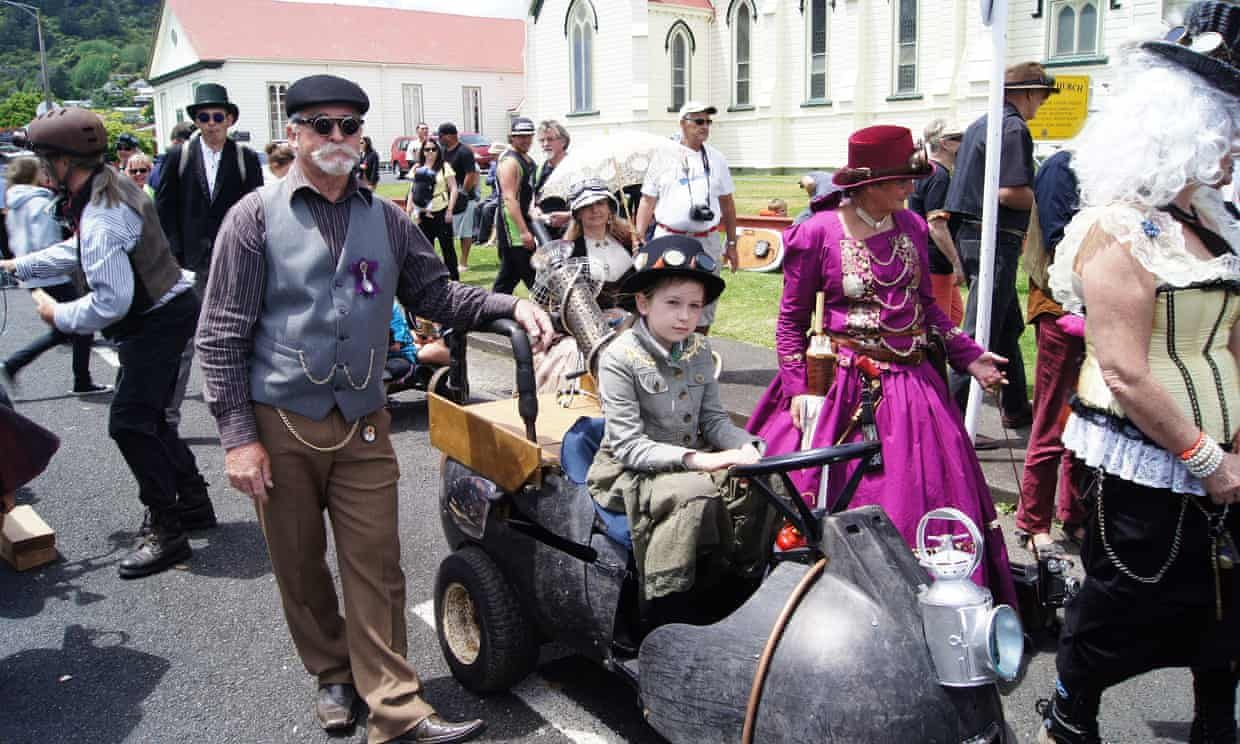How An Ordinary New Zealand Town Became Steampunk Capital Of The World Oamaru New Zealand Steampunk