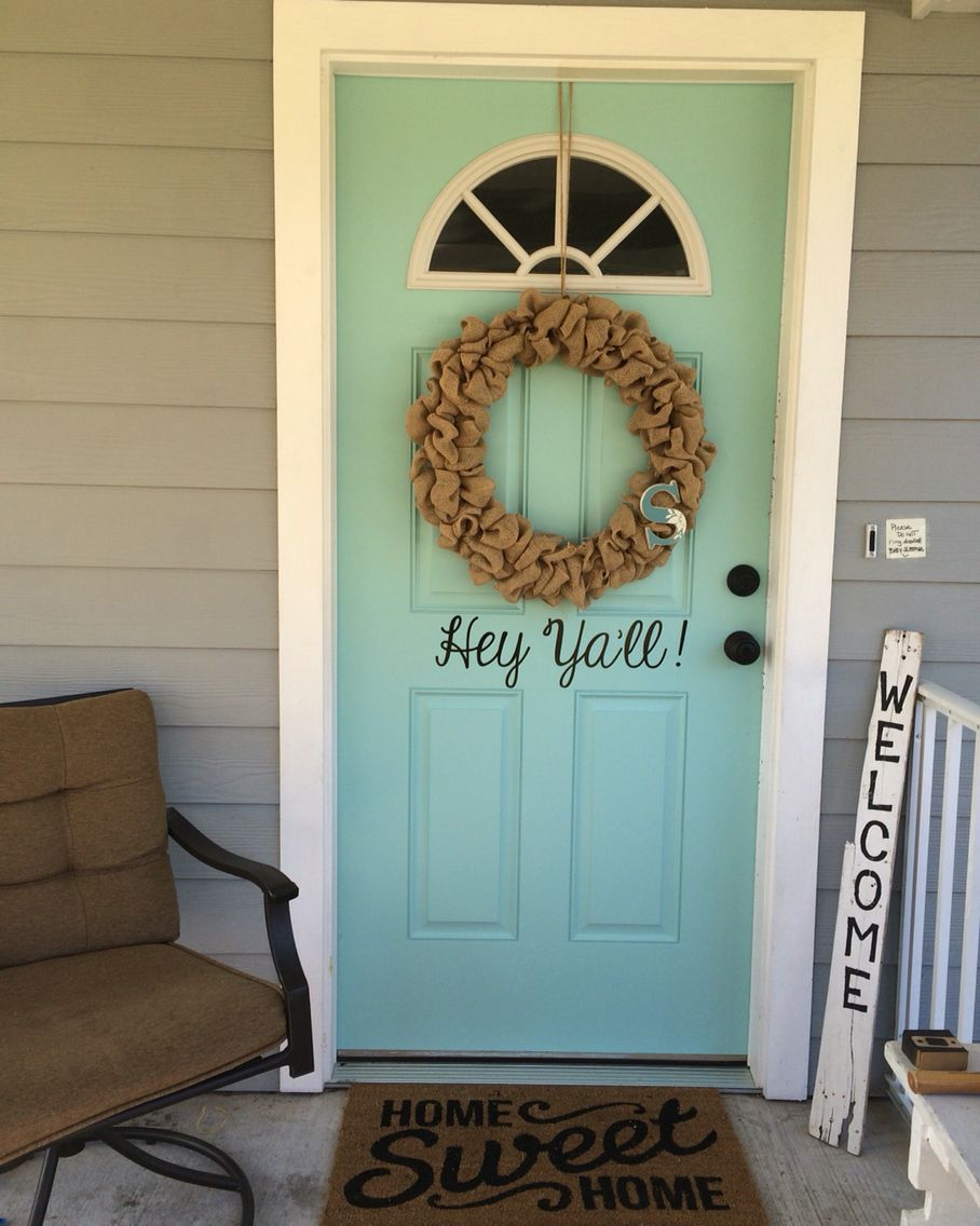 Upgrade Your Curb Appeal In One Afternoon Front Door Was