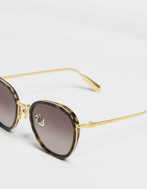 440c2425d629 T.Shell Semi-Precious Stone Sunglasses