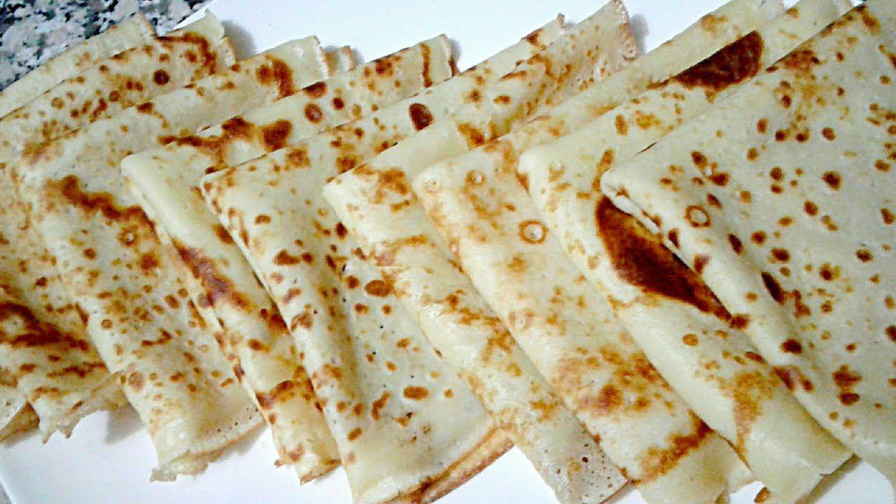 طريقة عمل لكريب ناااجح 100 بمقادير جد مضبوطة بالتفصيل للمبتدئات Food Bread Matzo