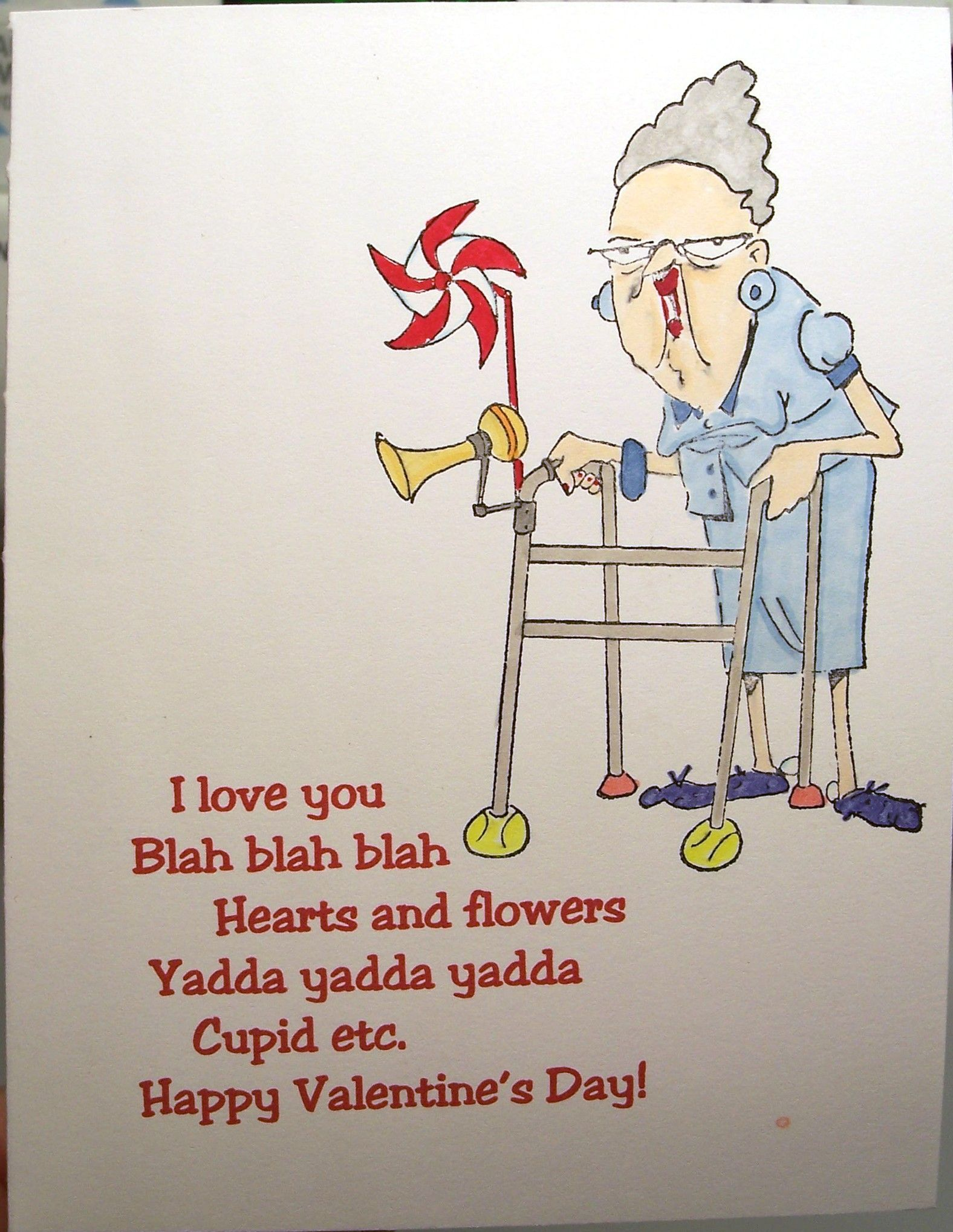 Old Lady Valentine Humor Crafts Pinterest Lady Valentines and