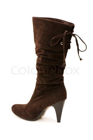 Brown boots!