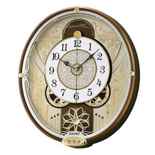 Seiko Winchester Melody In Motion Musical Wall Clock Qxm277brh New Free Shipping Seiko Wall Clock Dial Wall Clock Clock
