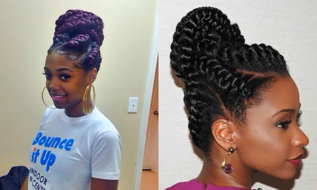 Black Women Goddess Braids Into High Bun Hair Styles Braided Hairstyles Latest Braided Hairstyles