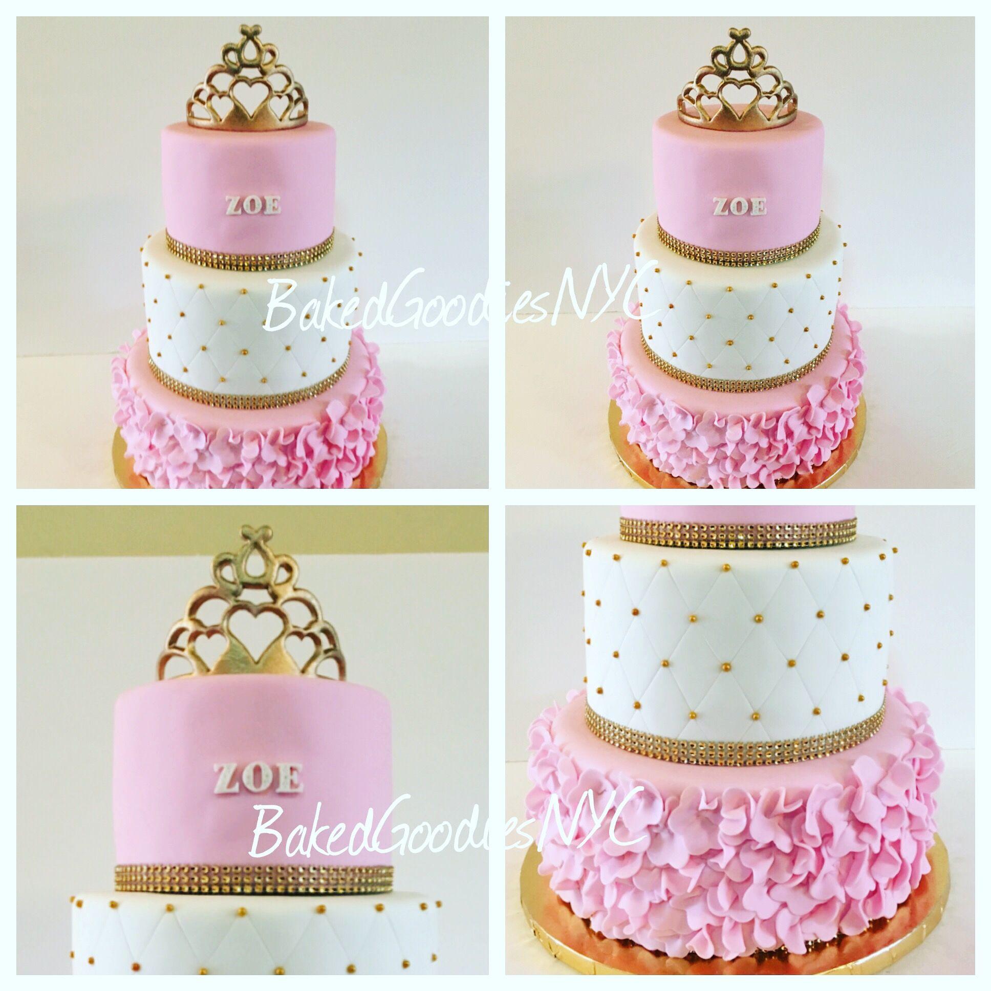 Tiara Sweet 16 Cake
