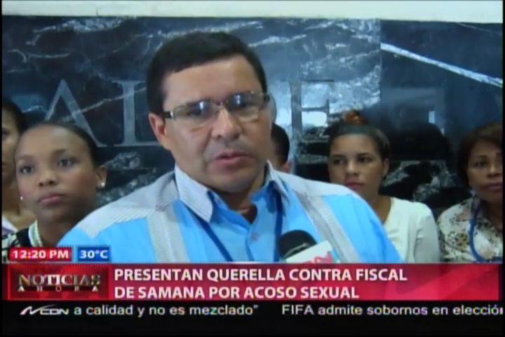 Presentan Querella Contra Fiscal De Samaná Por Acoso Sexual #Video