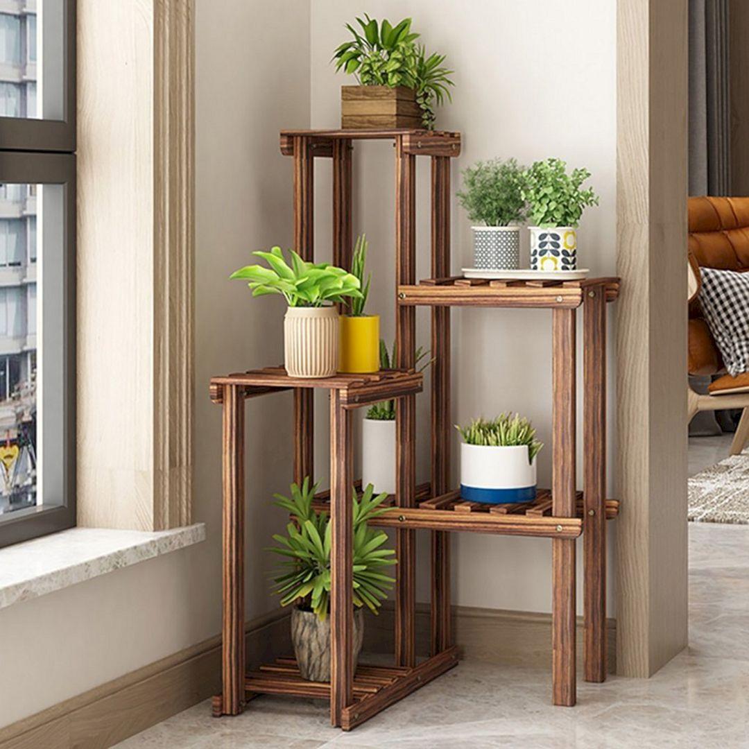 Beautiful Indoor Ladder Plants Ideas Plant Decor Indoor Plant Stand Indoor Garden Plant Stand