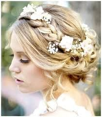 Image result for flowers in long hair
