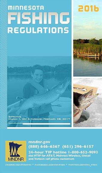 2016 Minnesota Fishing Regulations Minnesota DNR