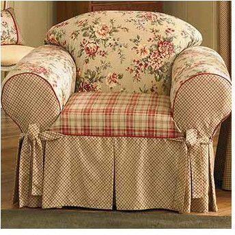 Sure Fit Lexington Club Chair Slipcover Slipcovers For Chairs Loveseat Slipcovers Slipcovers