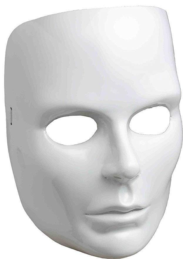 Amazonsmile Women S White Full Face Mask Clothing White Face Mask Mask New Halloween Costumes