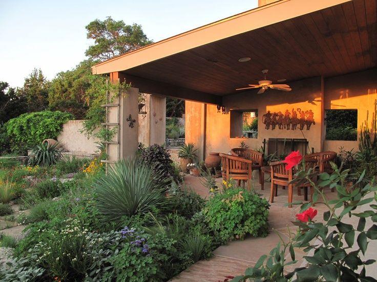 Texas Dry Gardening Small Backyard Gardens Backyard Garden Layout Dream Backyard Garden