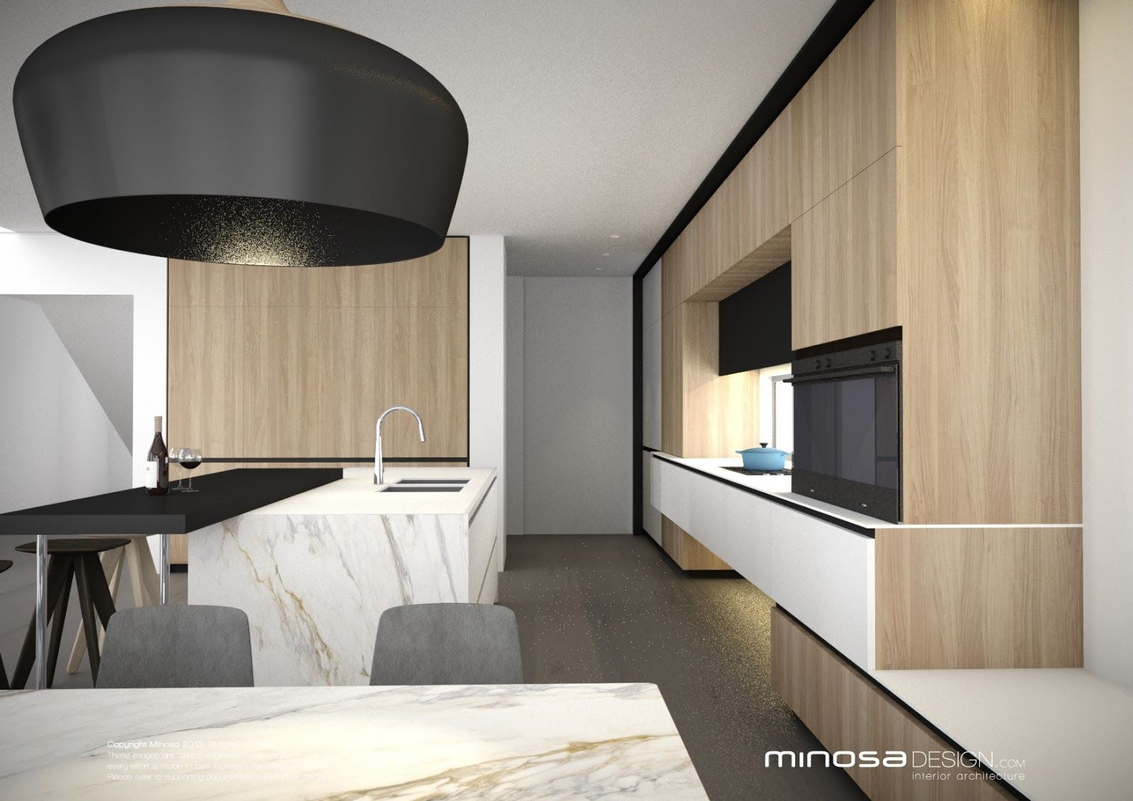 Modern Kitchen Lounge minosa-kitchen-design-scullery-laundry-connected-spaces-design