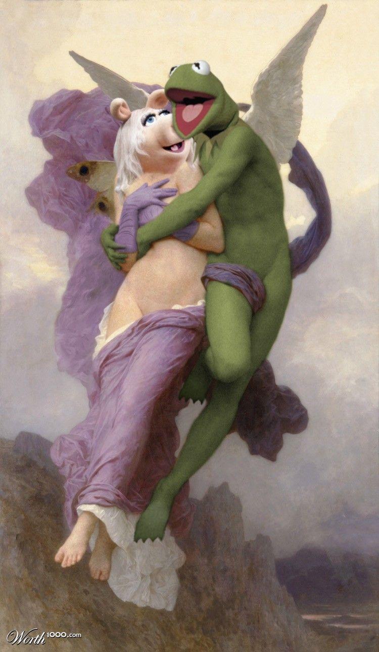 Miss Piggy Puppet Porn - Today - everyone is green Happy St. Pat's Angel Espionage: Three Prongs -  Le Ravissement de Sesame
