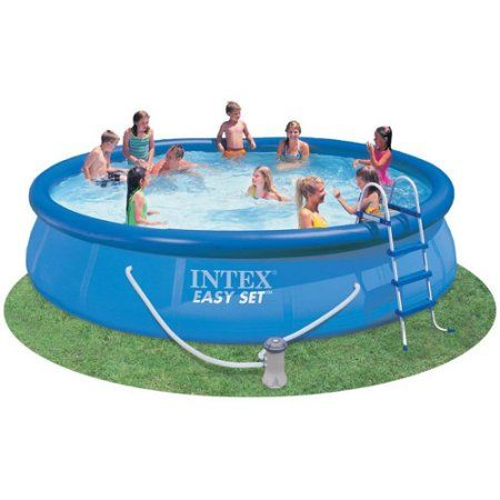 Affordable 15 Feet By 36 Inch Above Ground Easy Setup Swimming Pool New
