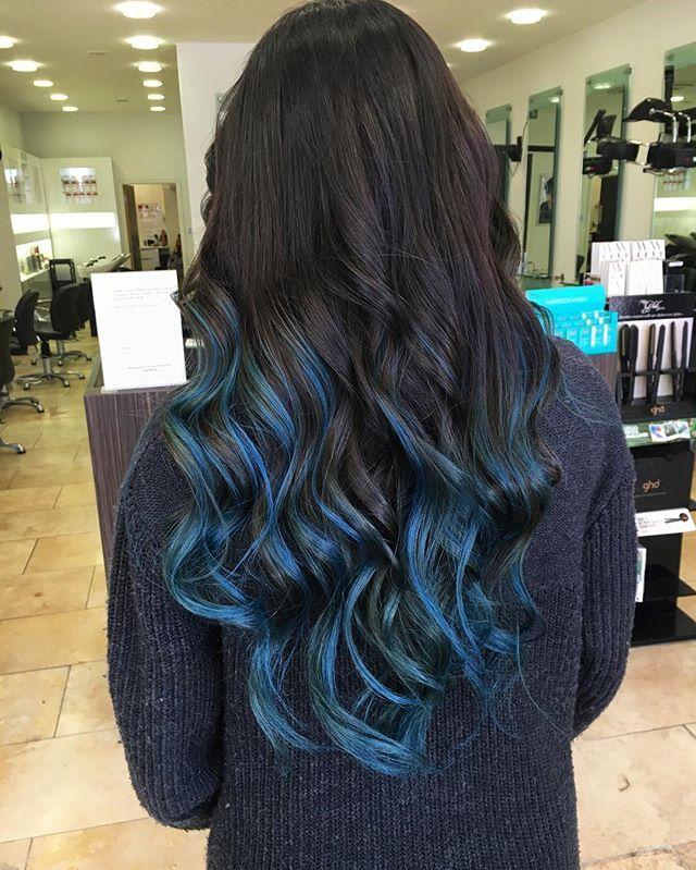 Blue Blueombre Mermaidhair Bluehair Crazyhair Wella