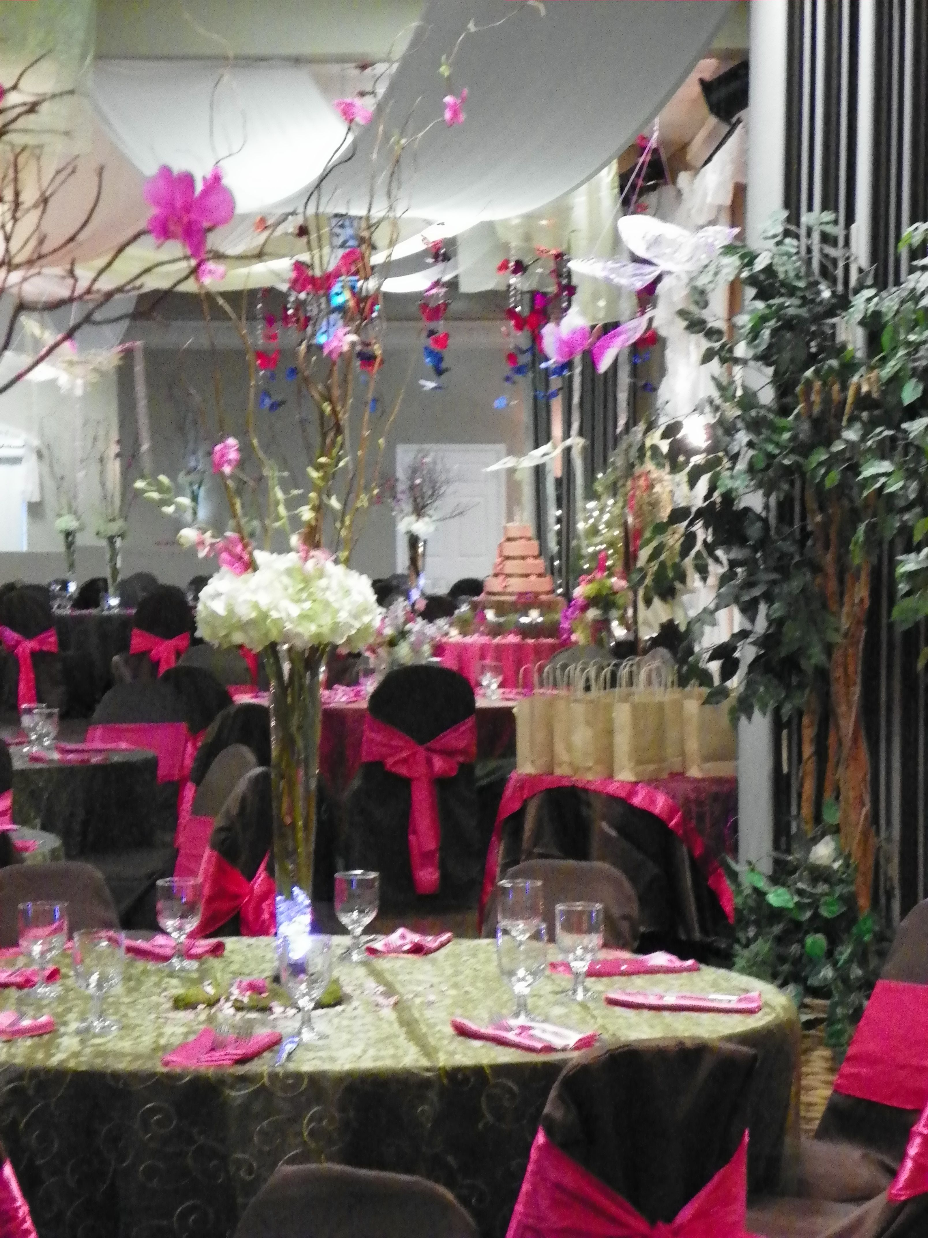 Quinceanera centerpieces tampa florida quinceaneras by for Quinceanera decorations