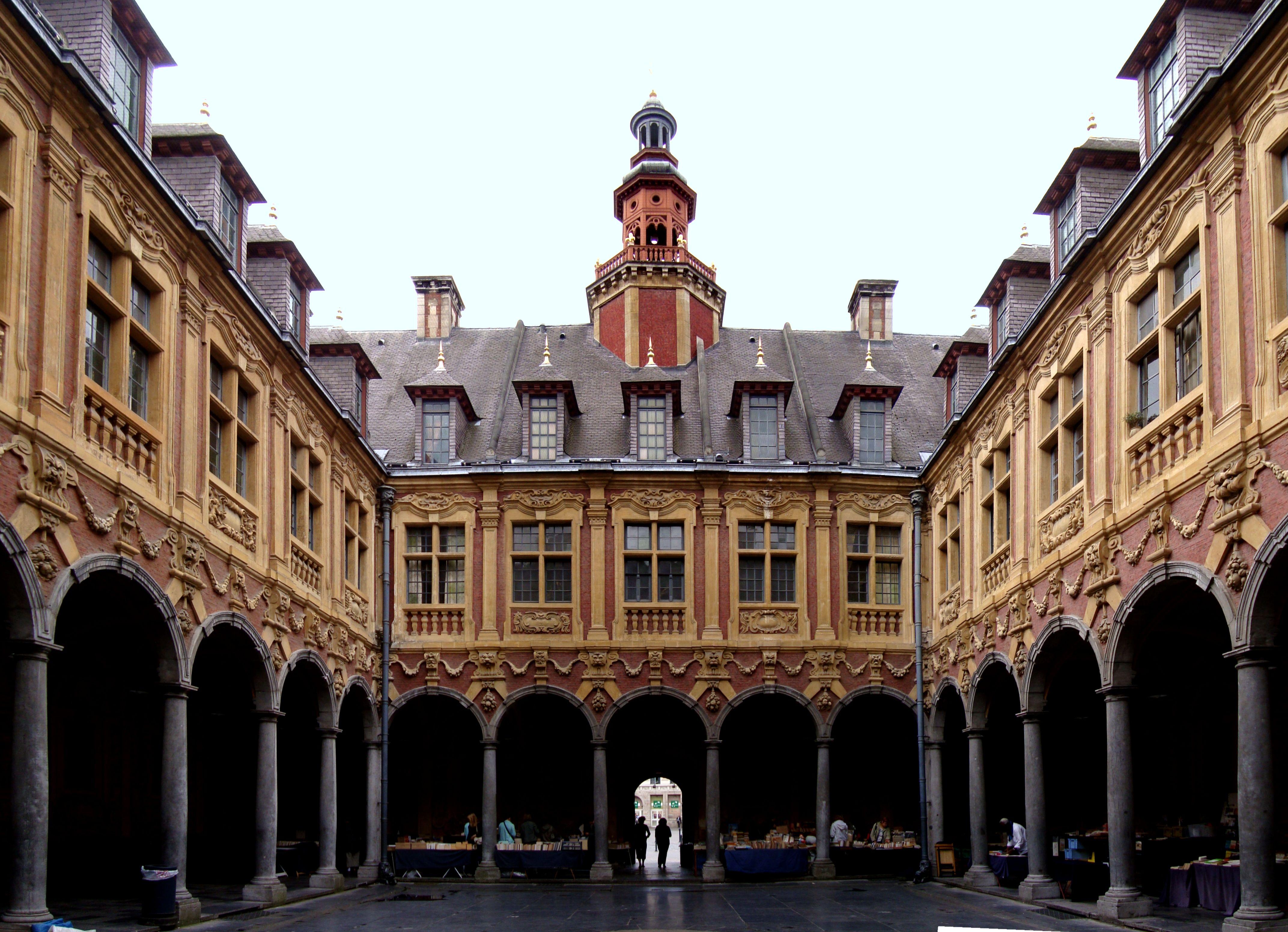 Vieille bourse - Lille | Lille, Ville france, Lille ville