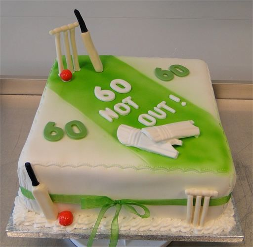 Cricket Cake - Contact Hyderabad Cupcakes to order ...