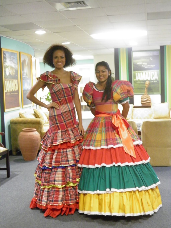 Jamaican Cultural Dresses