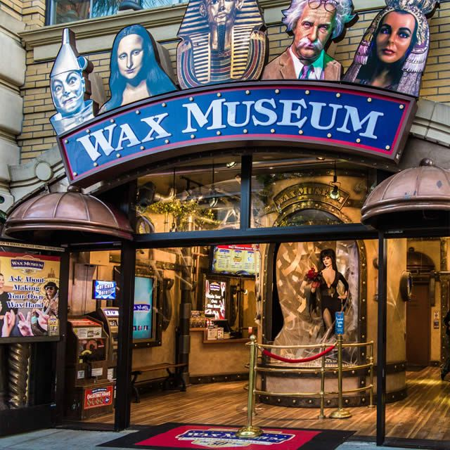 Wax museum at fisherman 39 s wharf in san francisco ca for San francisco new museum