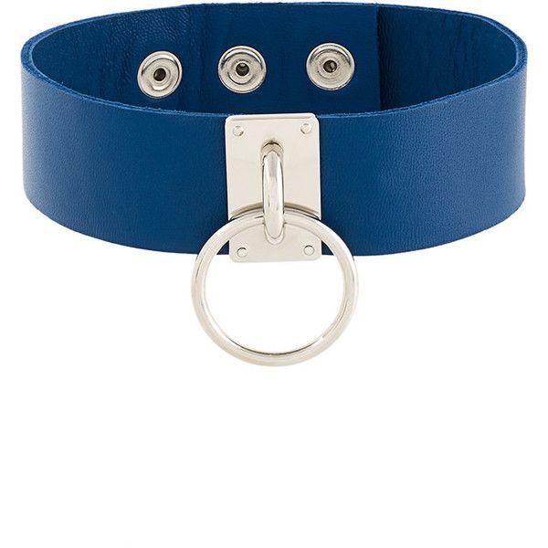 circle stud collar - White Manokhi kdtF29yt0