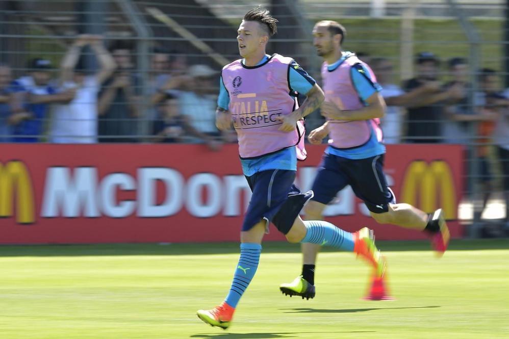 Nazionale, primo allenamento azzurro a Montpellier