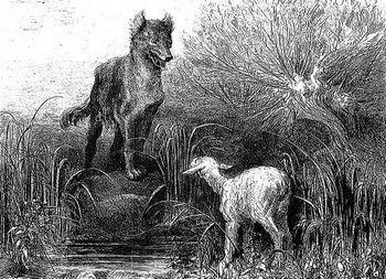 Le Loup Et L Agneau Livre I Fable 10 1668 C Est L Histoire D