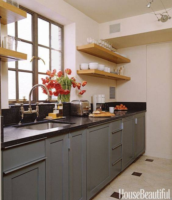 36 small galley kitchens we love | Cocinas